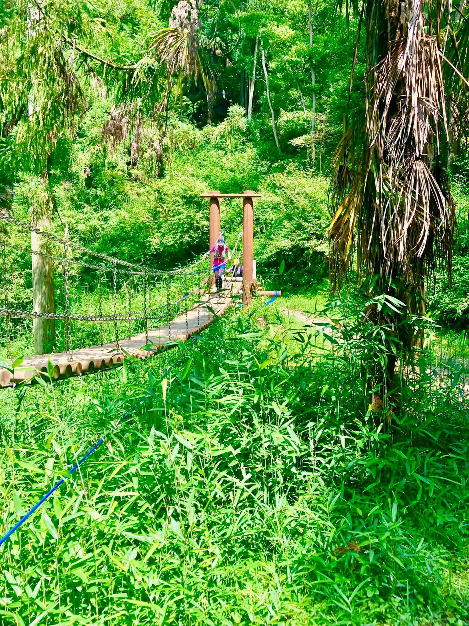 大阪の池田にある五月山で初心者トレラン講習